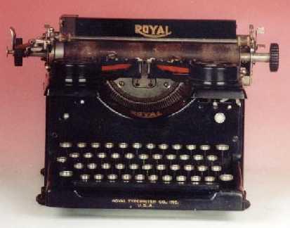 Maquina De Escribir. la máquina de escribir
